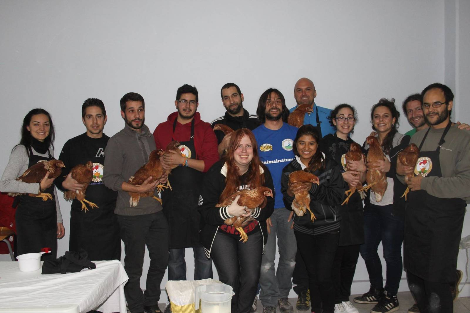 Chicken Camp nivel I – discriminación
